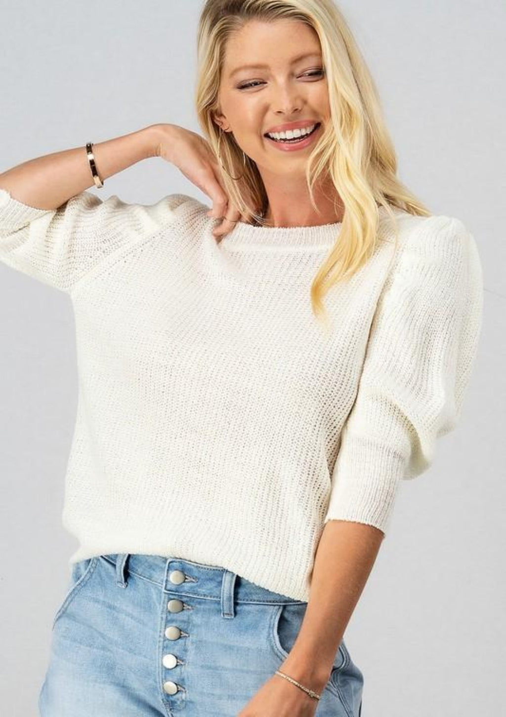 My Best Behavior Knit Top