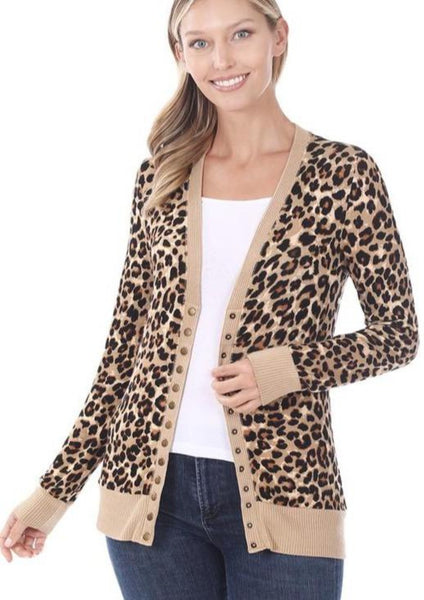 Since Day One Leopard Cardigan
