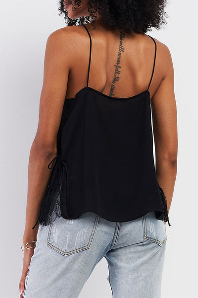All About Me Scalloped Cami