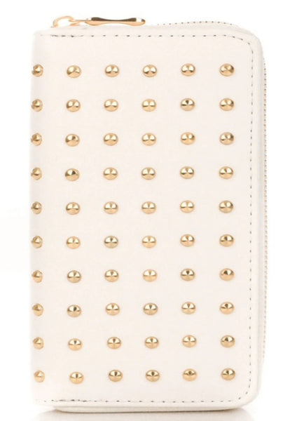 Rich Girl Studded Wallet