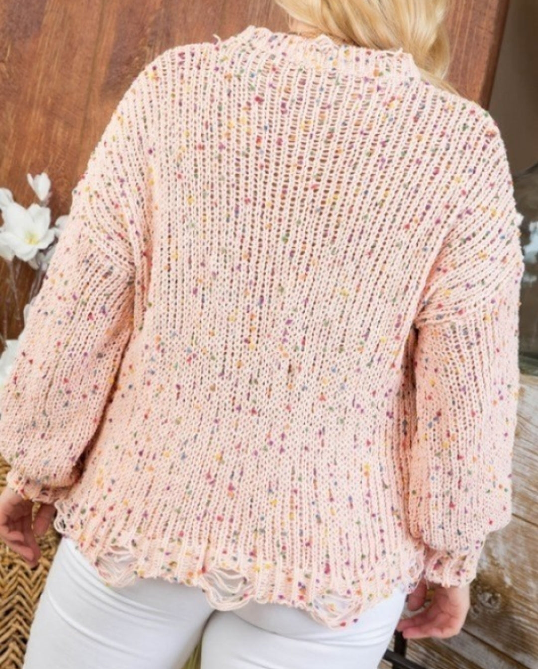 Party Time Confetti Sweater