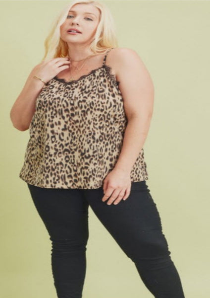 Life's a Jungle Leopard Cami
