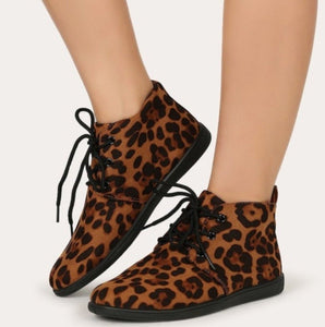 Leopard Oxford Sneakers