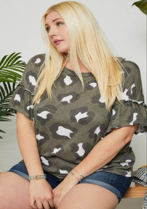 Not Your Mother's Leopard Tee