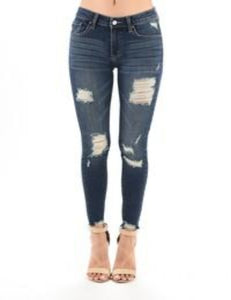 Express Yourself Distressed Jeans