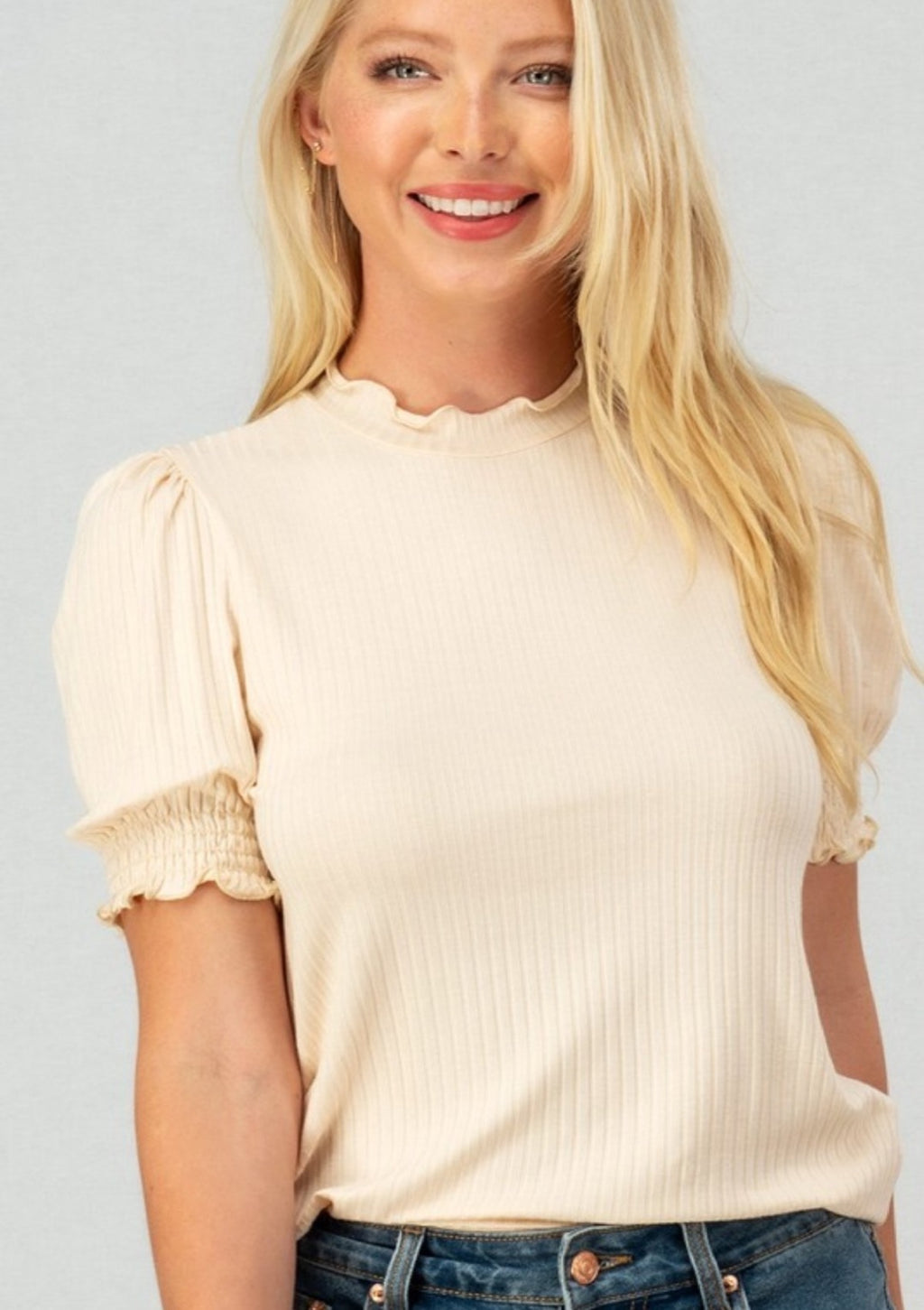 On Cloud Nine Ruffle Top