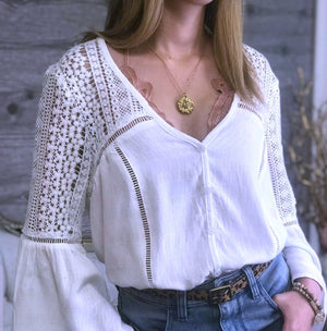 Free Spirit Button Down Top