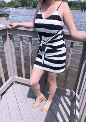 Coventina Striped Dress