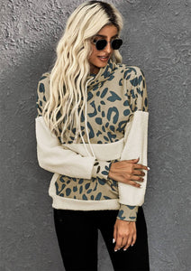 Inspire Me Leopard Pullover