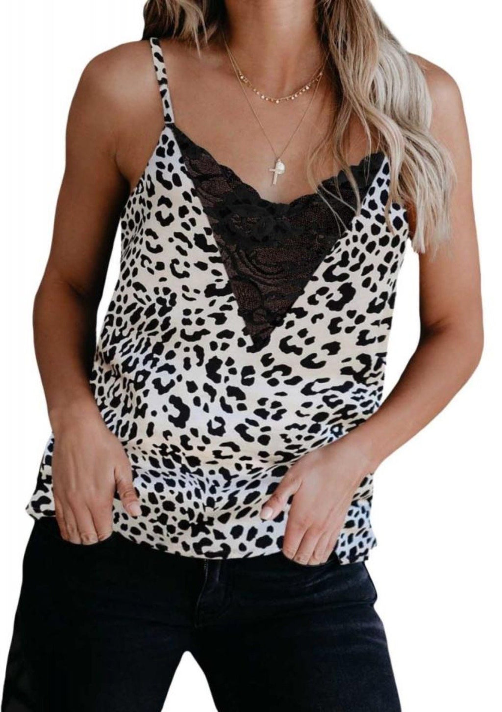 Until I See You Again Leopard Cami