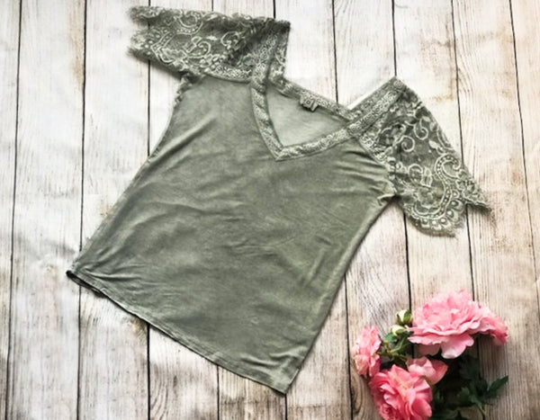 Simply Irresistible Lace Tee