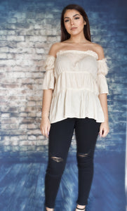 Whimsical Ruffle Top