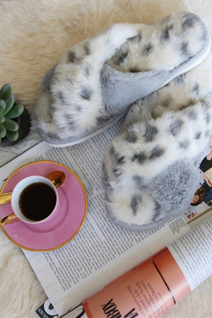 By Your Side Leopard Slippers