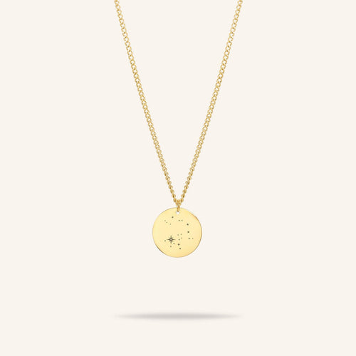 Starsign Coin Necklace