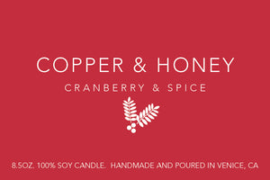 cranberry & spice (holiday exclusive) - preorder