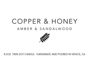 amber and sandalwood