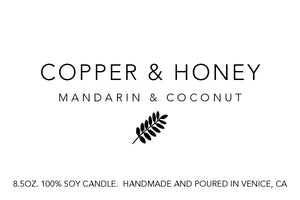 mandarin and coconut (summer exclusive)