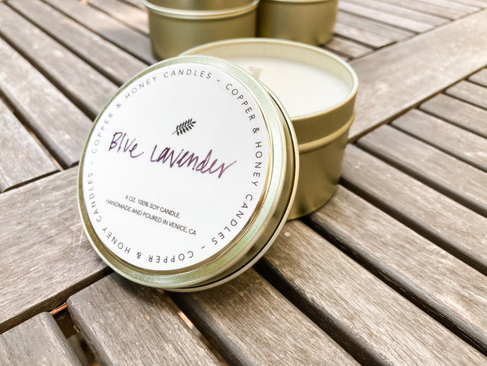 sample candle - floral scent