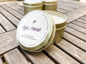 sample candle - holiday scent