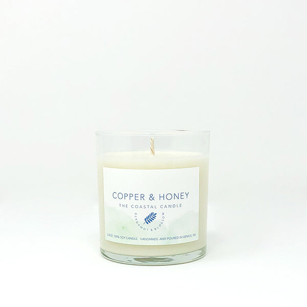 the coastal candle (bergamot & blossom)