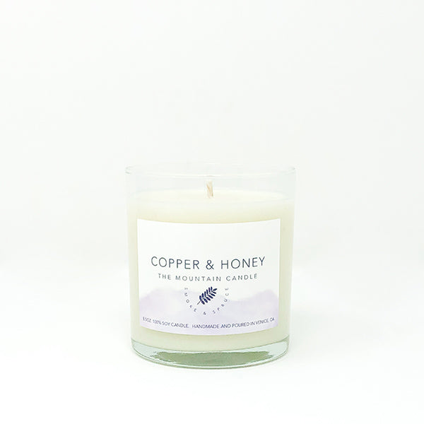 the mountain candle - smoke & spruce