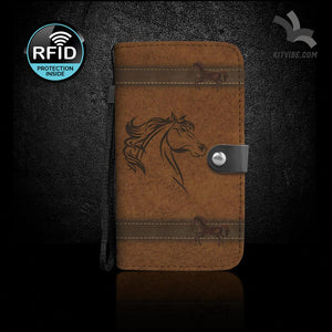 Wild Hearts Can't Be Tamed Wallet Case