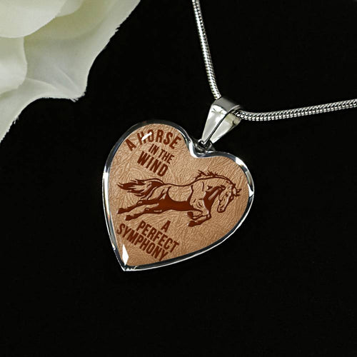 Perfect Symphony Heart Necklace