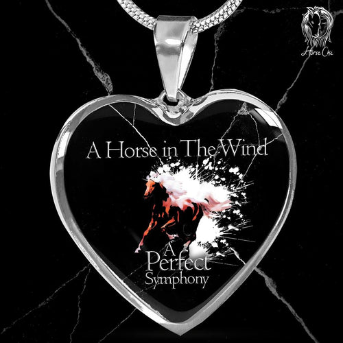 A Perfect Symphony Heart Necklace