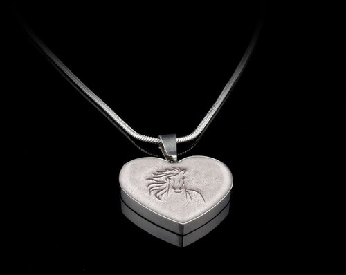 Wild Hearts Can't Be Broken Heart Necklace