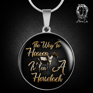 Heaven On Horseback Necklace