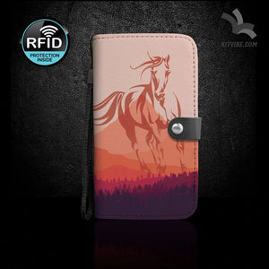 Ride Listen Love Wallet Case