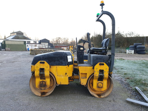 HIRE.....Bomag double drum roller