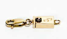 Load image into Gallery viewer, 14k Yellow Gold Cinch Clasp Adapter