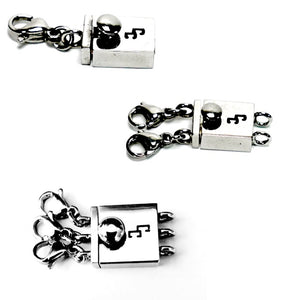 Hypoallergenic Stainless Steel Cinch Clasp Adapter