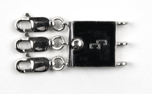 Load image into Gallery viewer, Sterling Silver Cinch Clasp