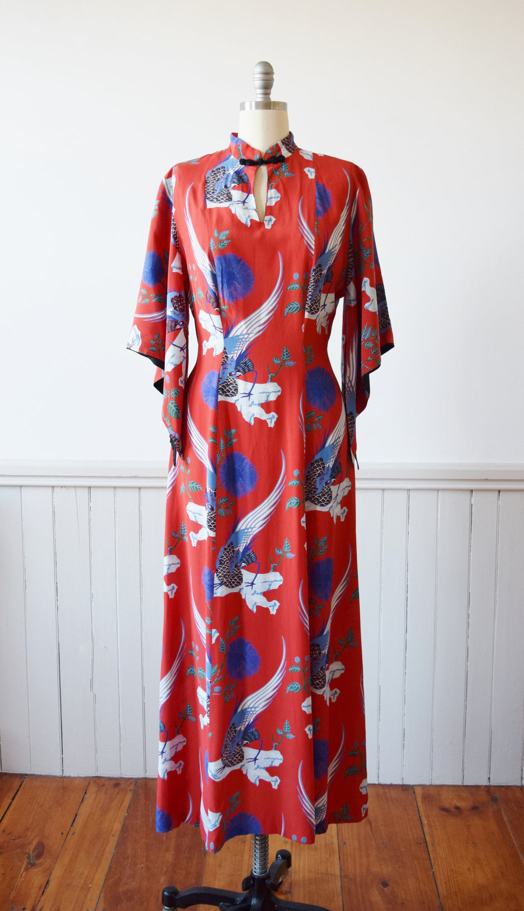 Rooster + Mimosa Flower Pake Muu Dress | M/L