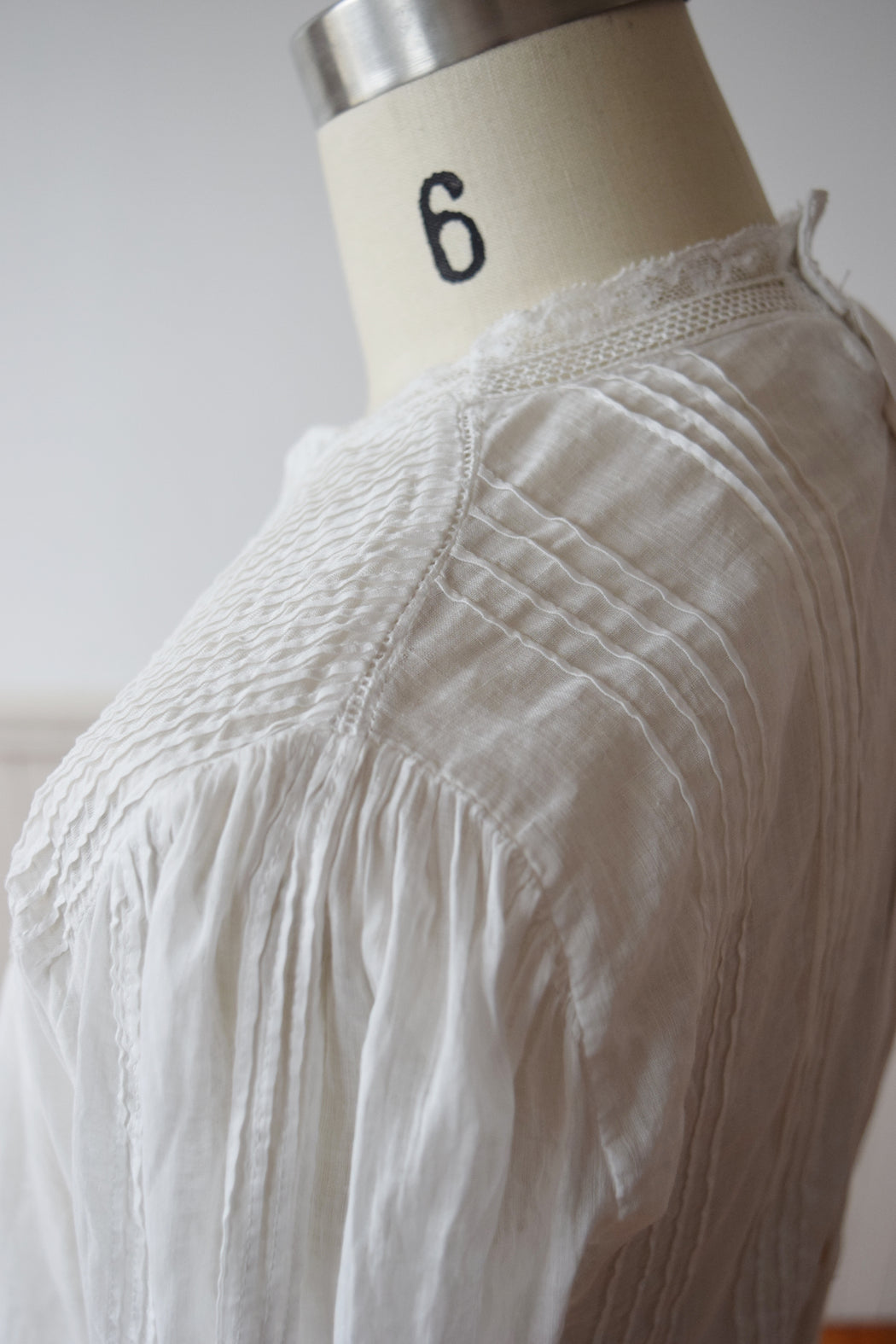 Edwardian Cotton Blouse | XS/S