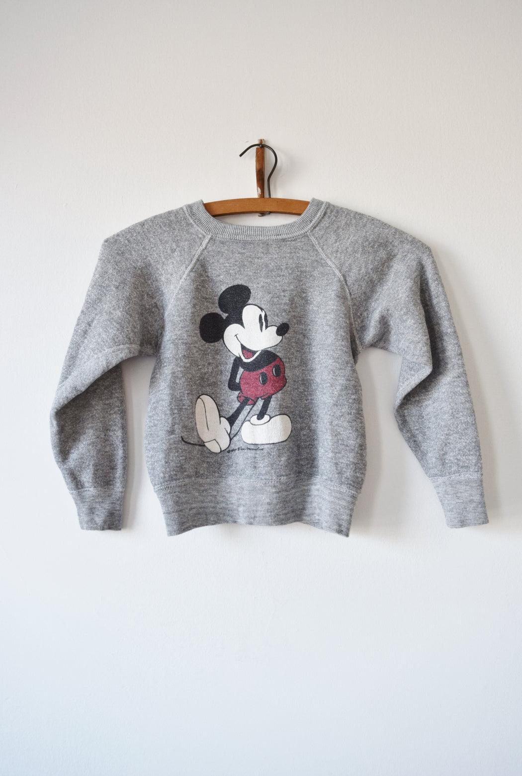 Child's Mickey Mouse Raglan