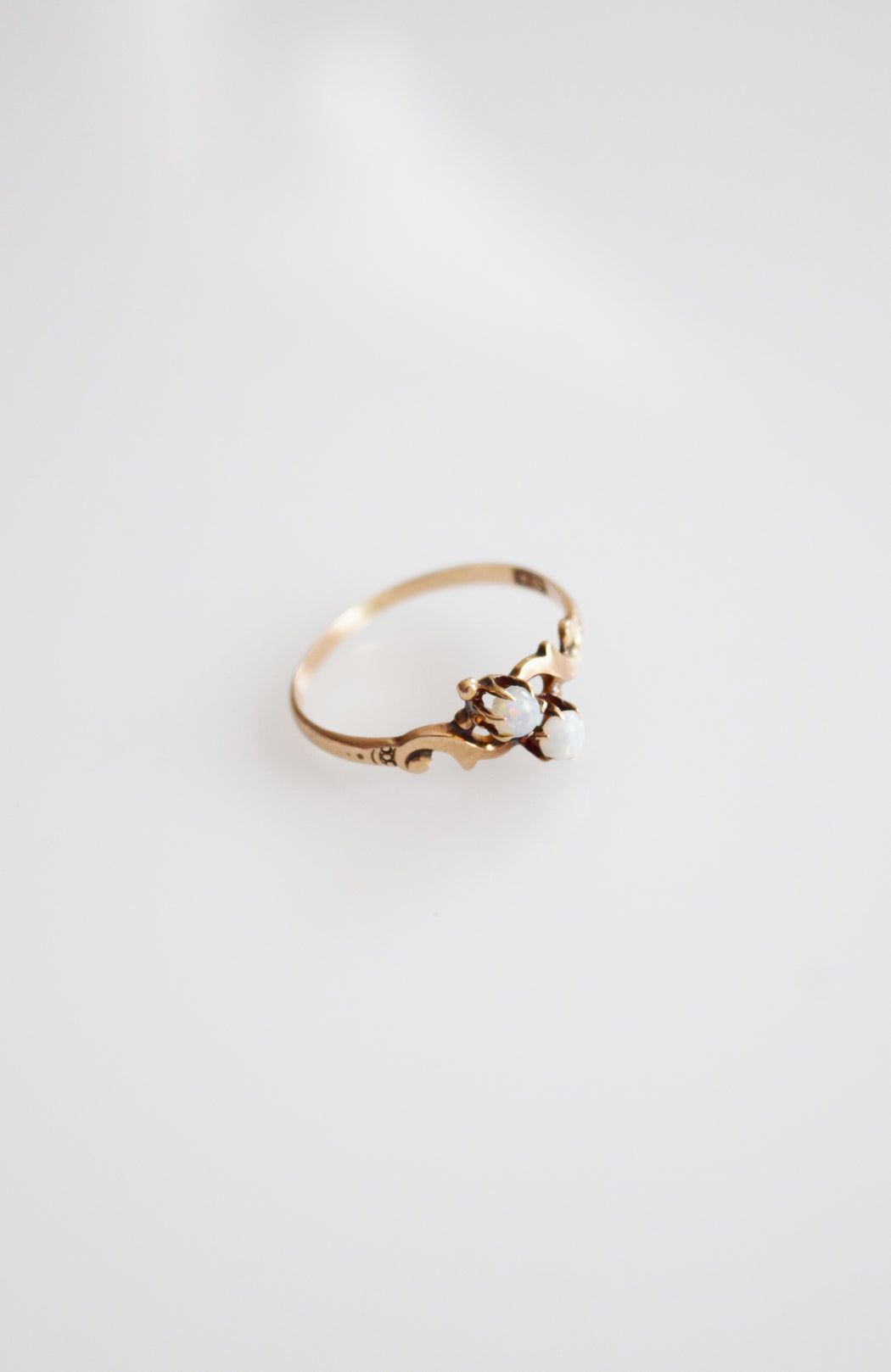 Victorian 10k Gold and Opal Ring by Allsopp Bros.