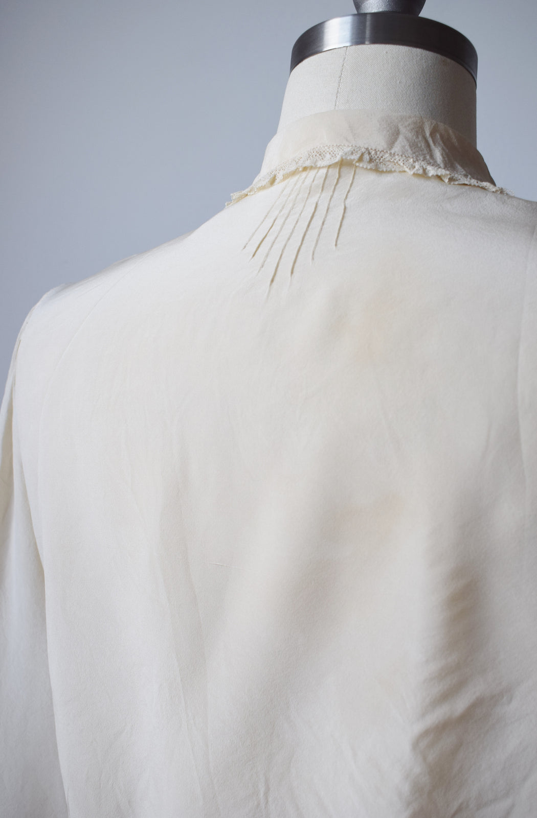 1930s/40s Silk Blouse | M