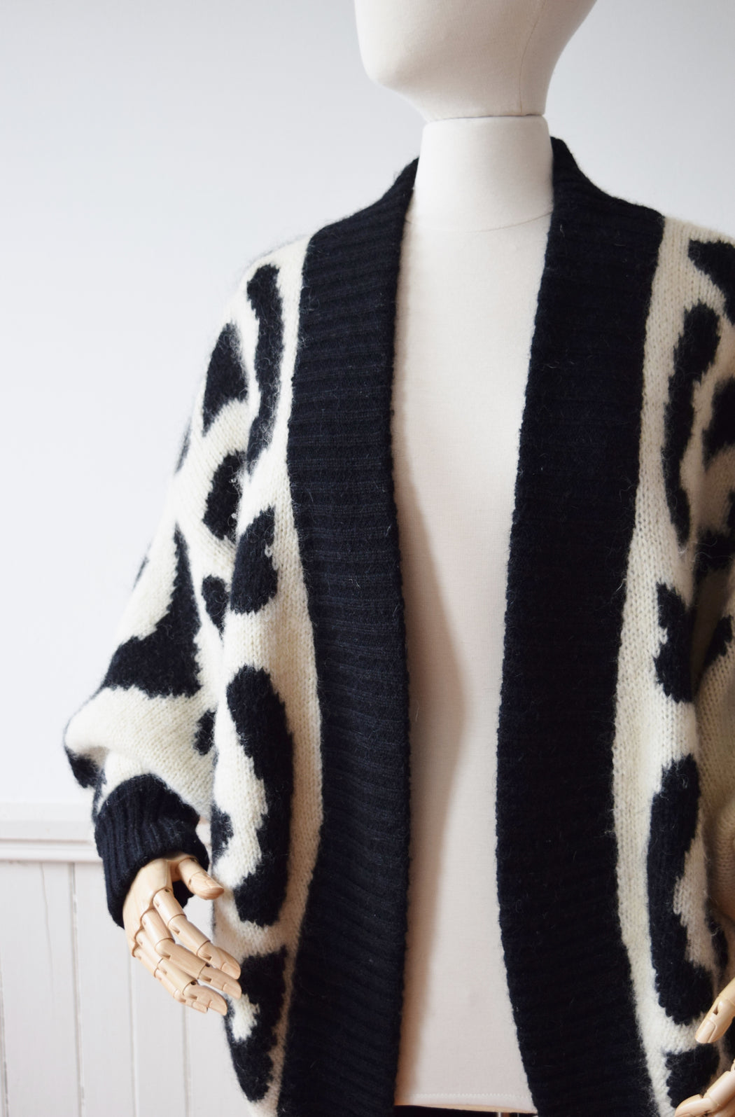 1980s Top of the Food Chain Cardigan | One Size