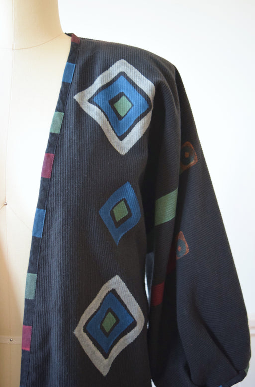 Hand Painted Jacket by Play Alegre | 1980s/90s | OS