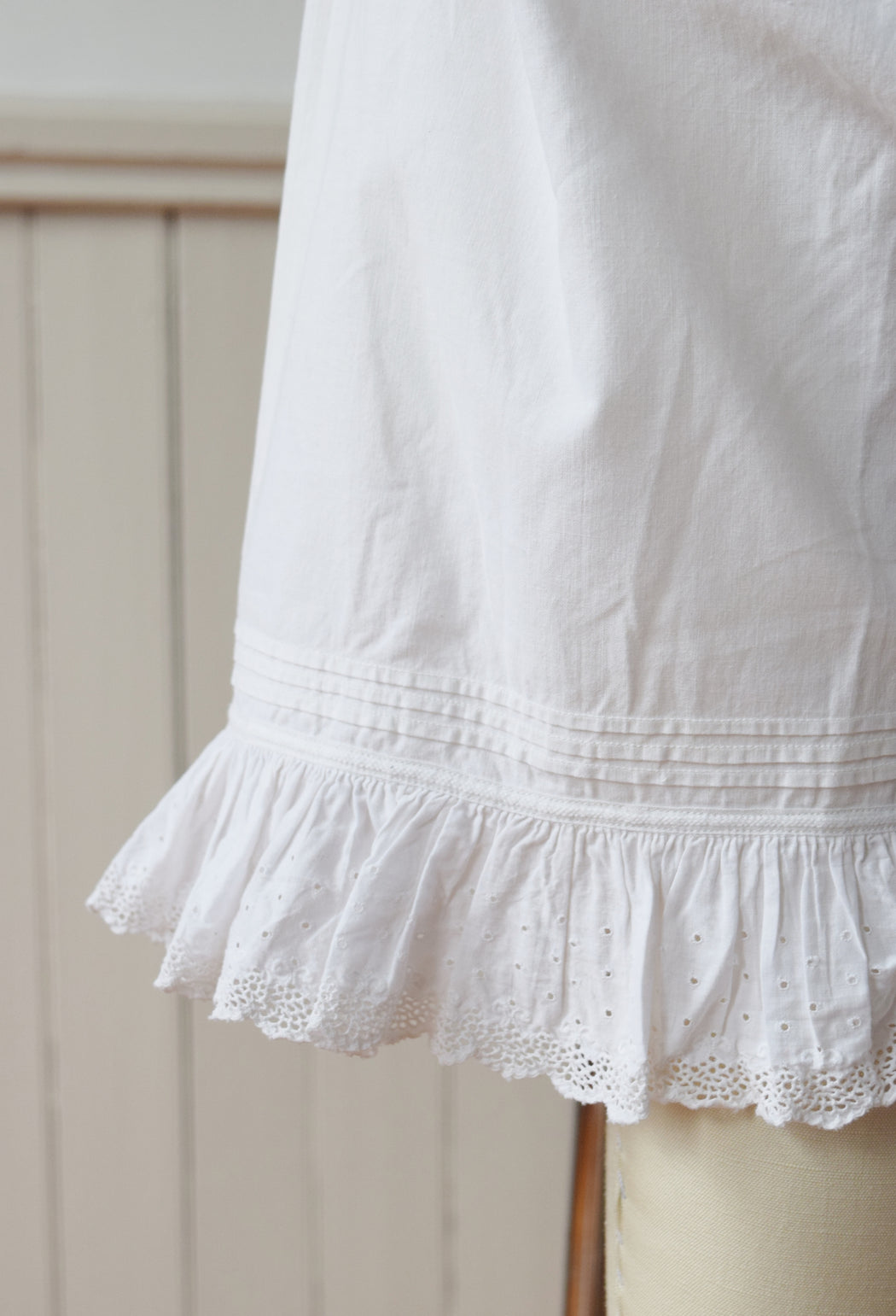 Antique Cotton Bloomers | XS