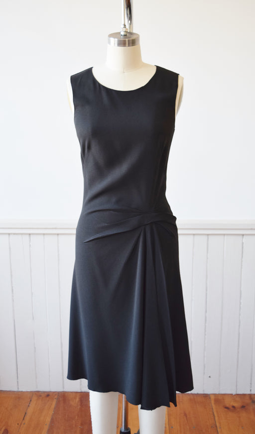Little Black Prada Dress | 1990s | S/M