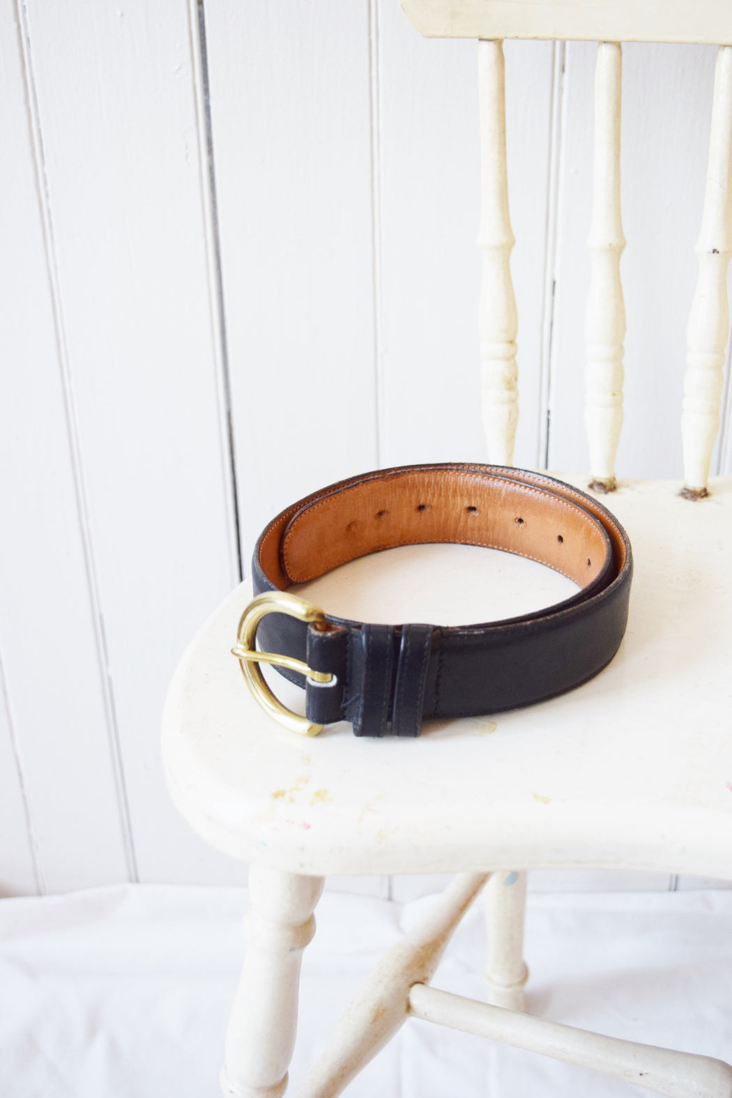 Coach Black Leather Belt | 26-31""