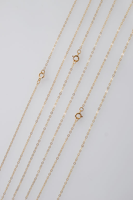 14kt Gold Filled Cable Chain for Lockets and Pendants