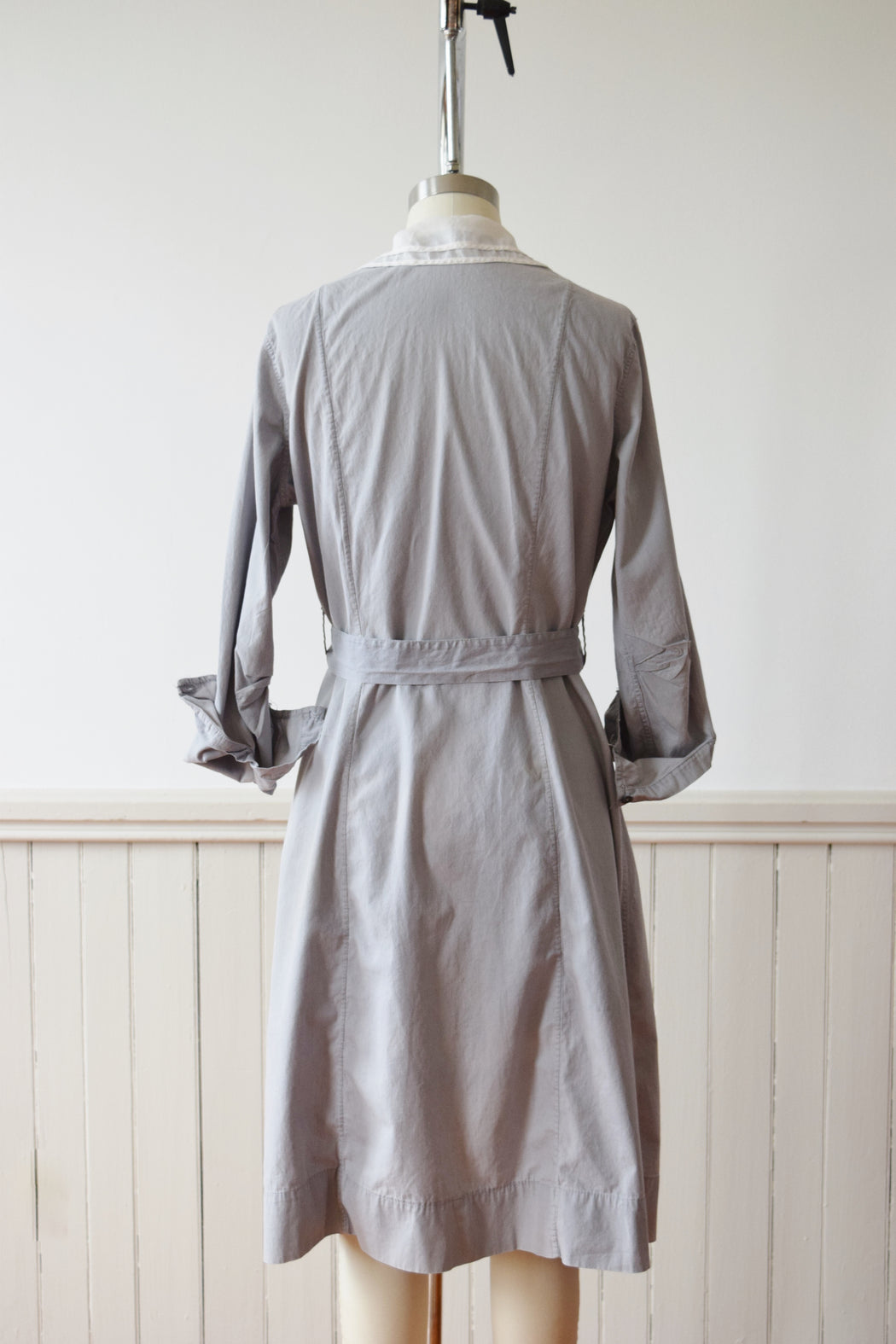 1920s Domestic Worker's Lavender Smock Dress