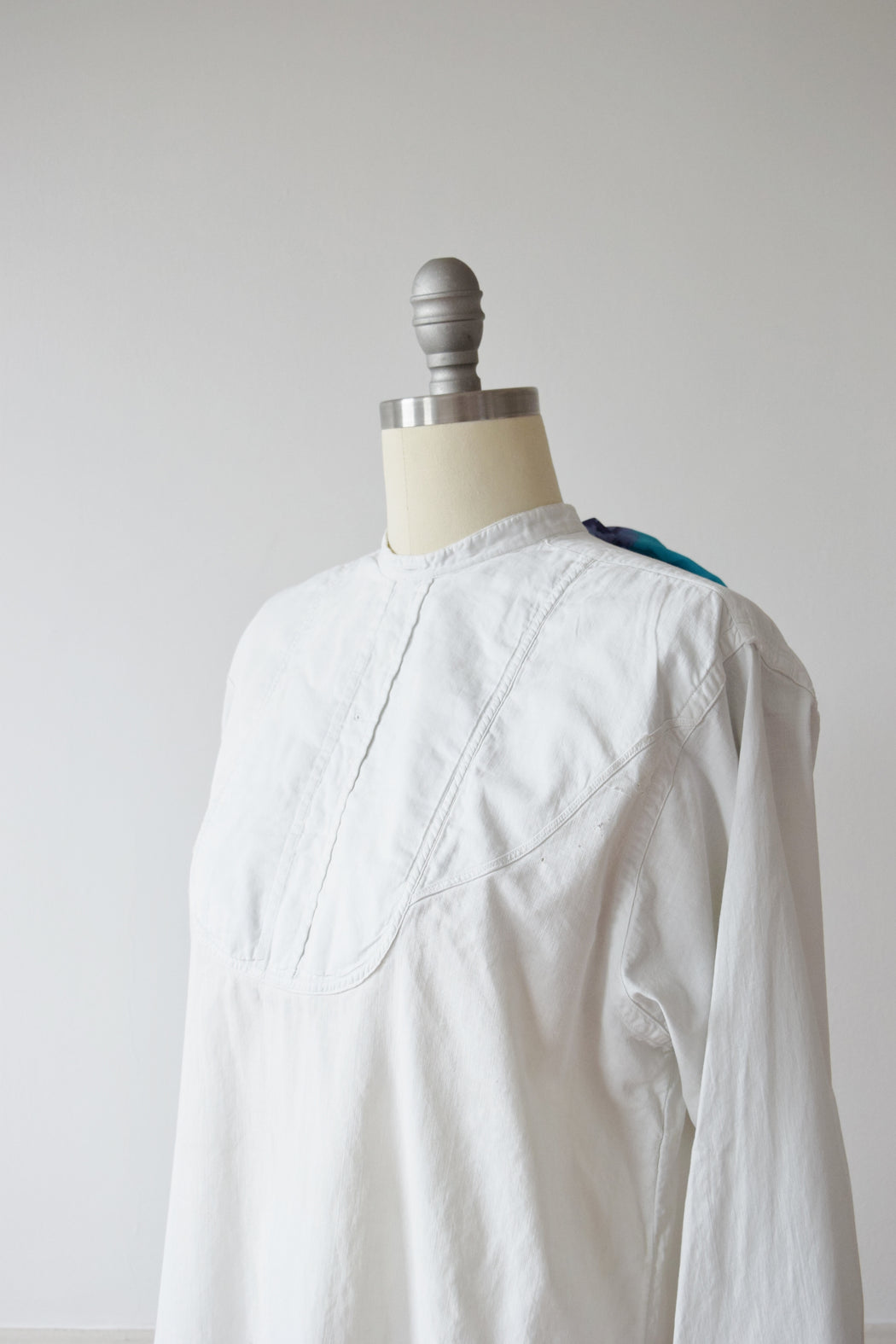 Antique Edwardian Men's Dress Shirt | S-L