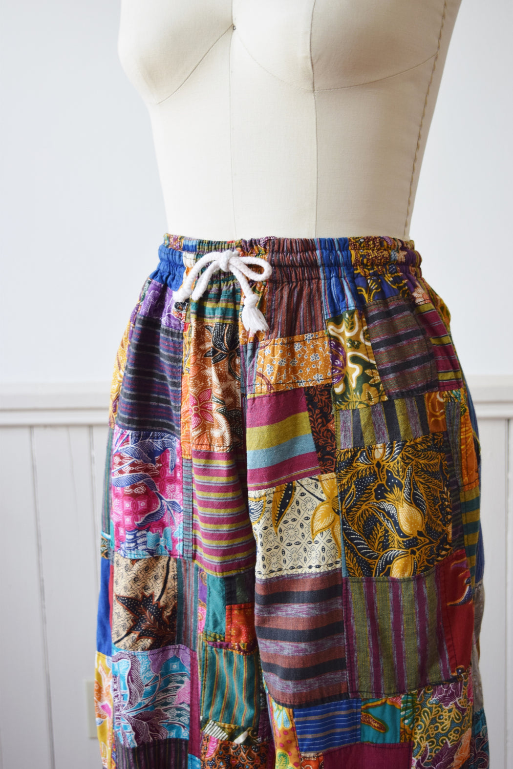Thai One On Patchwork Pants | 1990s | M