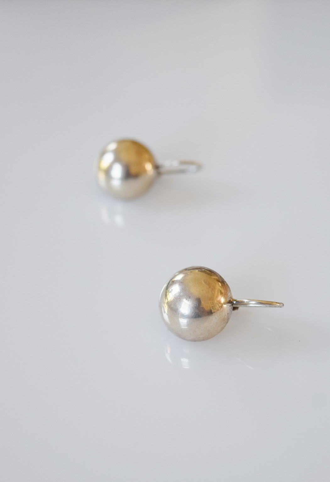 Sterling Silver Moon Earrings